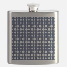 Polka Dots Pendant Pattern Flask