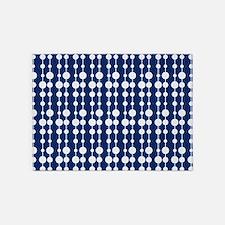 Polka Dots Pendant Pattern 5'x7'Area Rug