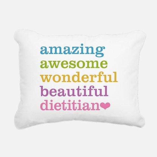 Cute Nutrition Rectangular Canvas Pillow