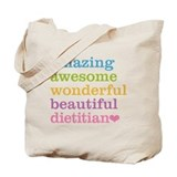 Dietitian Regular Canvas Tote Bag