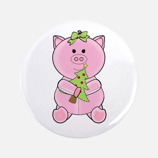 "Cool Teacup pig 3.5"" Button"