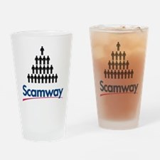 Cute Scam Drinking Glass