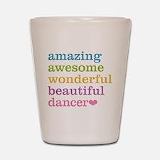 Cute Dance Shot Glass