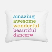 Cute Dance Rectangular Canvas Pillow