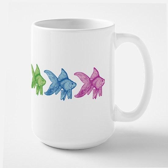 Rainbow Goldfish Mugs