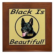 GSD Black Is Beautiful! Framed Tile