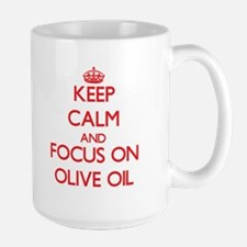Keep Calm and focus on Olive Oil Mugs