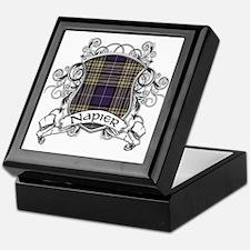 Napier Tartan Shield Keepsake Box