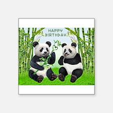 LOVING PANDAS Sticker