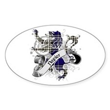 Napier Tartan Lion Decal