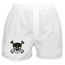Murray Tartan Skull Boxer Shorts