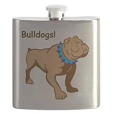 Bulldog on the Loose! Flask