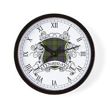 Murray Tartan Shield Wall Clock