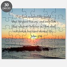 JOHN 3:16 Puzzle