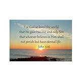 Bible verses john 316 10 Pack