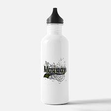 Murray Tartan Grunge Sports Water Bottle