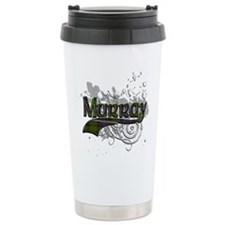 Murray Tartan Grunge Travel Coffee Mug