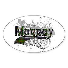Murray Tartan Grunge Decal