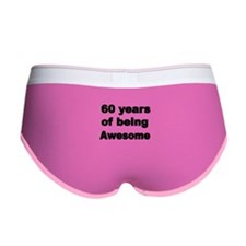 60 years of being Awesome Women's Boy Brief
