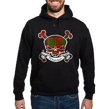 Munro Tartan Skull Hoodie