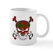 Munro Tartan Skull Mug