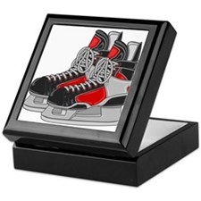 Ice Skates Keepsake Box