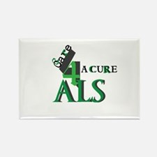Unique Amyotrophic lateral sclerosis Rectangle Magnet