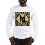 Solid Black GSD Long Sleeve T-Shirt