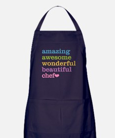Cute Gourmet Apron (dark)