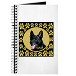 Solid Black GSD Journal