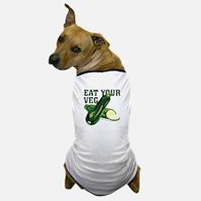 Eat Your Veg Dog T-Shirt
