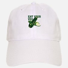 Eat Your Veg Baseball Baseball Baseball Cap