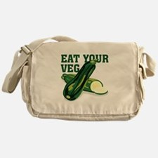 Eat Your Veg Messenger Bag