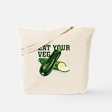 Eat Your Veg Tote Bag