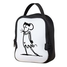 Cute Bms Neoprene Lunch Bag