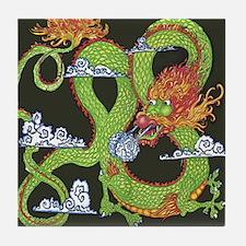Fire Dragon Tile Coaster
