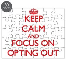 Cute Carry on and keep calm Puzzle