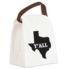 Texas Yall Canvas Lunch Bag