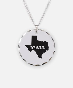 Texas Yall Necklace