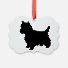 Cairn Terrier Black 2 Ornament