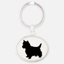 Cairn Terrier Black 2 Keychains