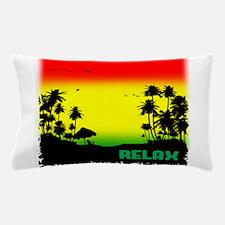 rasta relax Pillow Case