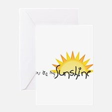 Sunshine4 Greeting Cards