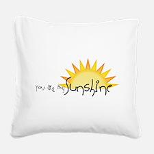 Sunshine4 Square Canvas Pillow