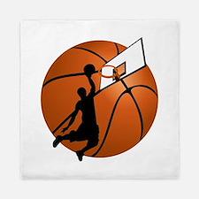 Cute Basketball Queen Duvet