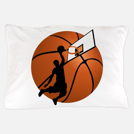 Cute Basketball player Pillow Case