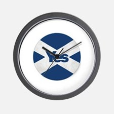 Cool Independence for scotland. Wall Clock