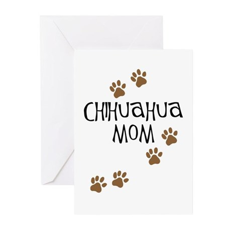 Chihuahua Mom Greeting Cards (Pk of 10)