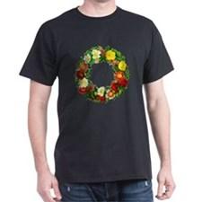 Rose Wreath by Redoute T-Shirt