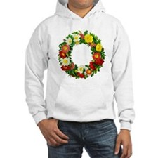 Rose Wreath by Redoute Hoodie